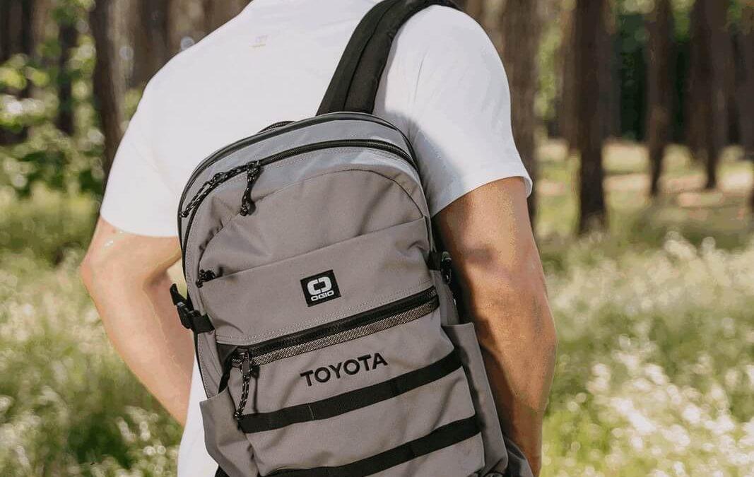 Toyota má vlastní řadu oblečení a doplňků na cestování